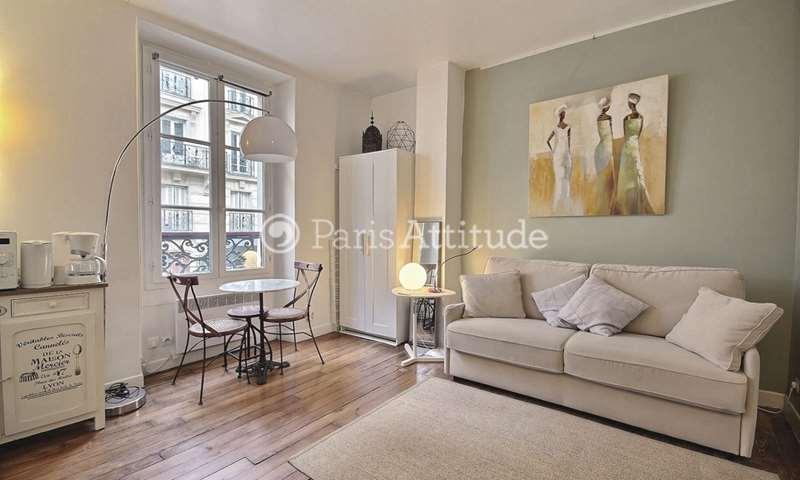 Location Appartement Studio 18m² rue Lepic, 18 Paris