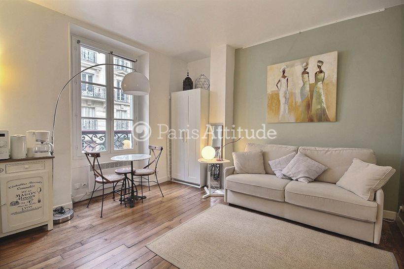 Louer Appartement meublé Studio 18m² rue Lepic, 75018 Paris