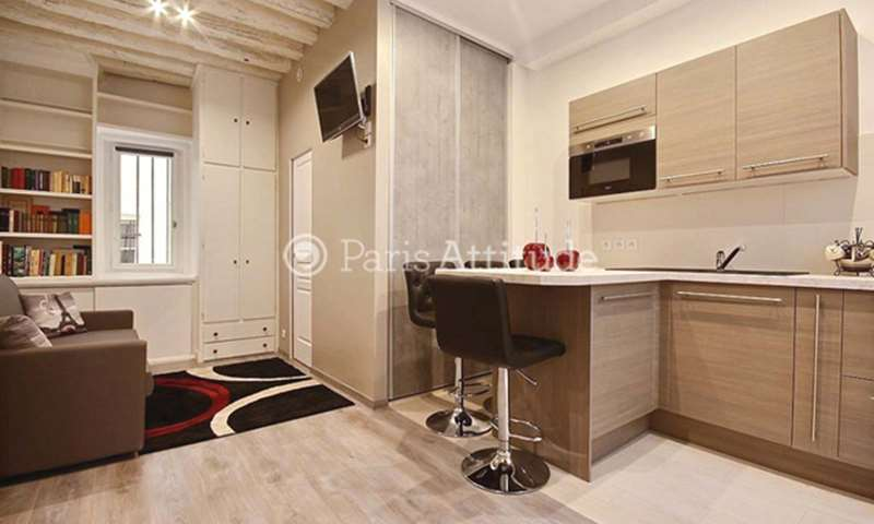 Rent Apartment Studio 21m² rue Saint Denis, 75001 Paris