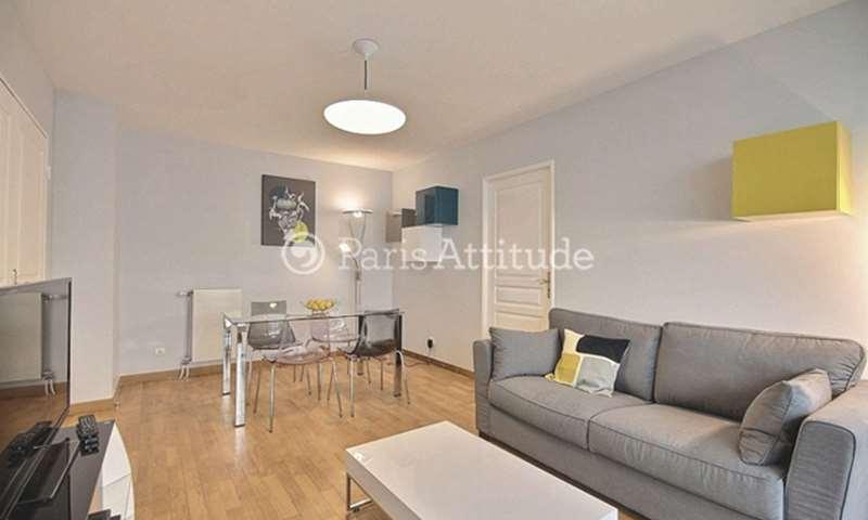 Rent Apartment 1 Bedroom 44m² rue Auguste Chabrieres, 15 Paris