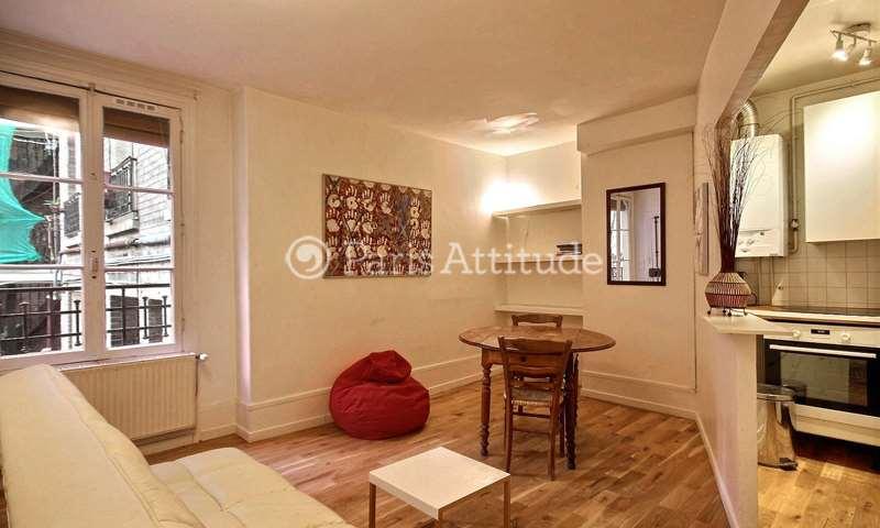Rent Apartment 1 Bedroom 35m² rue du General Beuret, 15 Paris