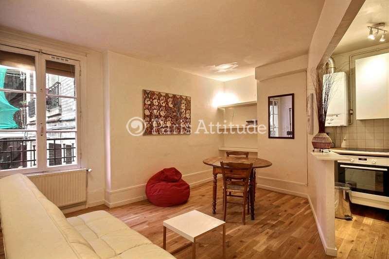 Rent furnished Apartment 1 Bedroom 35m² rue du General Beuret, 75015 Paris