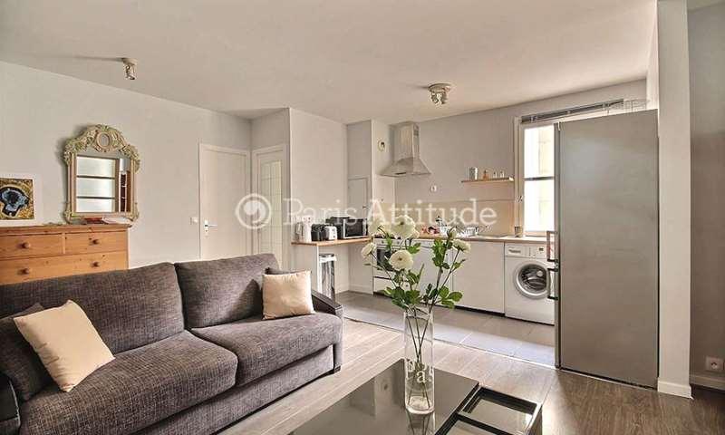 Location Appartement 1 Chambre 42m² rue Saint Gilles, 3 Paris