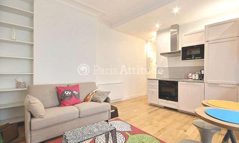 Rent Apartment 1 Bedroom 38m² rue d Alençon, 15 Paris