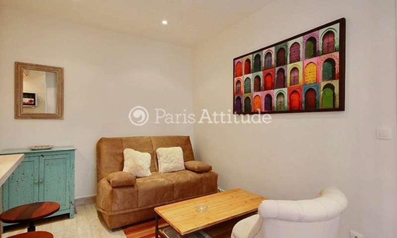 Rent Apartment 1 Bedroom 28m² rue Lepic, 75018 Paris