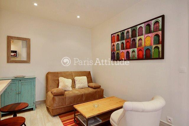 Louer Appartement meublé 1 Chambre 28m² rue Lepic, 75018 Paris