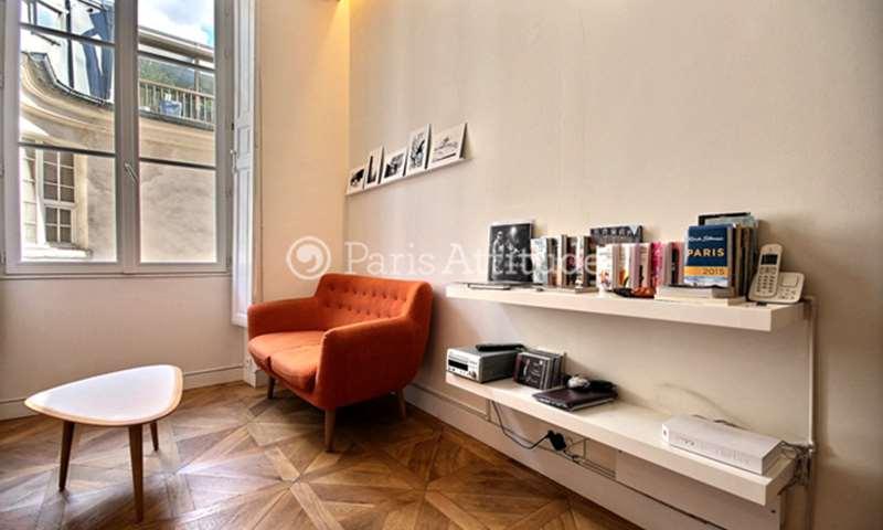 Location Appartement Alcove Studio 20m² rue du Croissant, 2 Paris