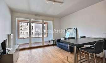 Rent Apartment 1 Bedroom 39m² rue de l Ourcq, 19 Paris