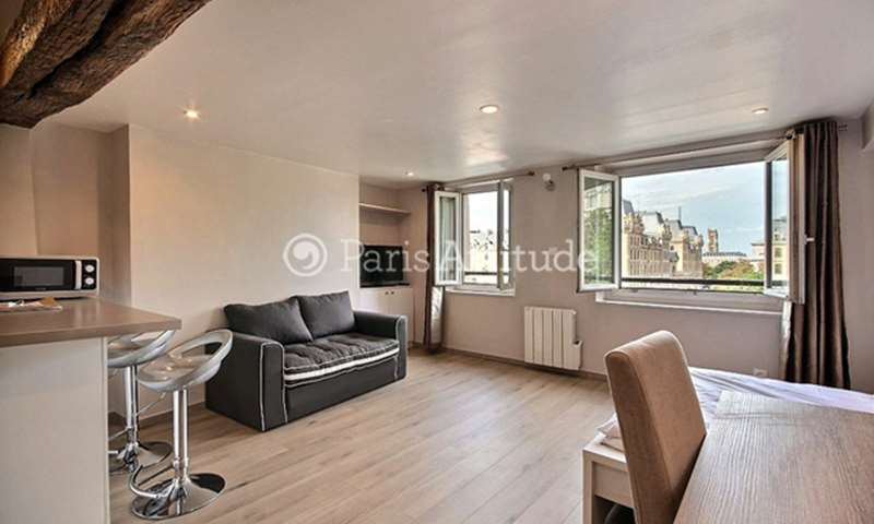 Rent Apartment Studio 28m² rue de la Bûcherie, 75005 Paris