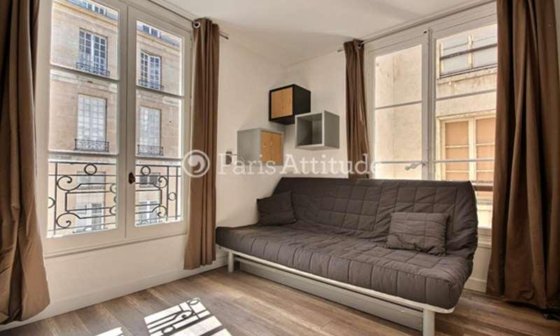 Rent Apartment Studio 20m² rue Guisarde, 6 Paris