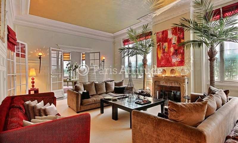 Rent Apartment 4 Bedrooms 330m² rue Octave Feuillet, 16 Paris