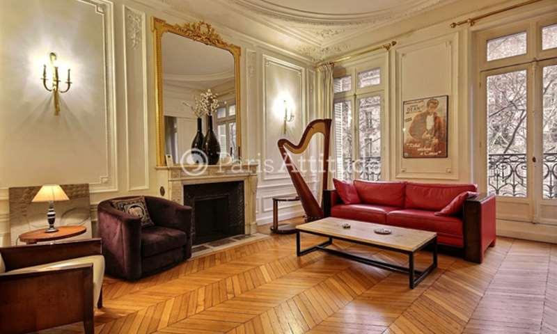 Rent Apartment 2 Bedrooms 118m² boulevard Saint Germain, 6 Paris