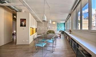 Rent Loft 3 Bedrooms 143m² rue Lucien Sampaix, 10 Paris