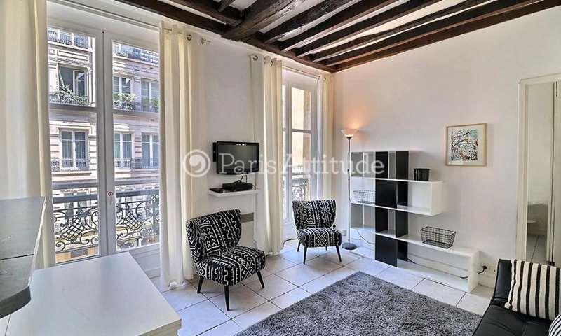 Rent Apartment 1 Bedroom 32m² rue Vieille du Temple, 4 Paris