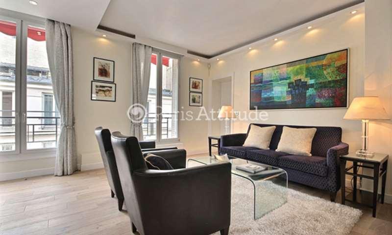 Rent Apartment 2 Bedrooms 59m² rue des Acacias, 17 Paris