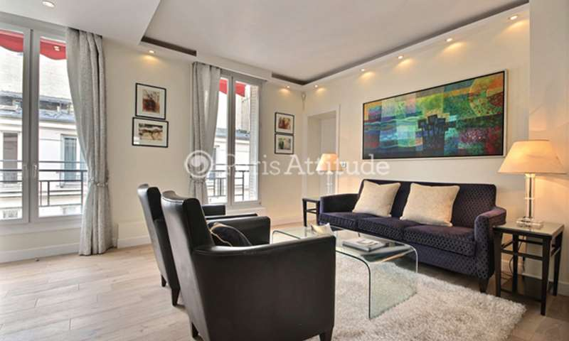 Rent Apartment 2 Bedroom 59m² rue des Acacias, 75017 Paris