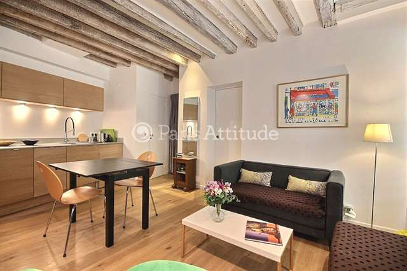 Aluguel Apartamento mobiliado 2 quartos 37m² rue Chappe, 75018 Paris
