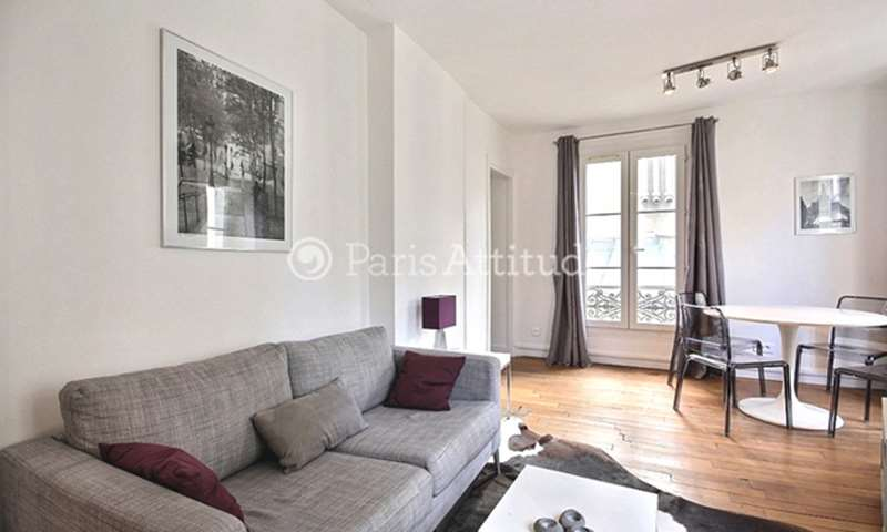 Rent Apartment 1 Bedroom 31m² rue de l eglise, 92200 Neuilly sur Seine