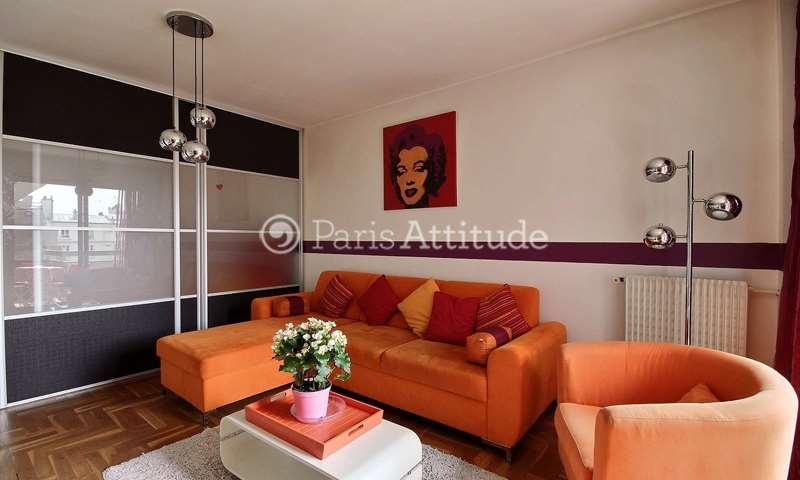 Rent Apartment Alcove Studio 40m² rue Leon Frot, 75011 Paris