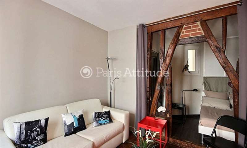 Rent Apartment Studio 35m² boulevard Morland, 75004 Paris