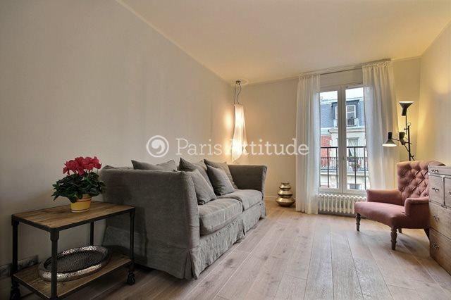 Rent furnished Apartment 2 Bedrooms 62m² rue Yvon Villarceau, 75016 Paris