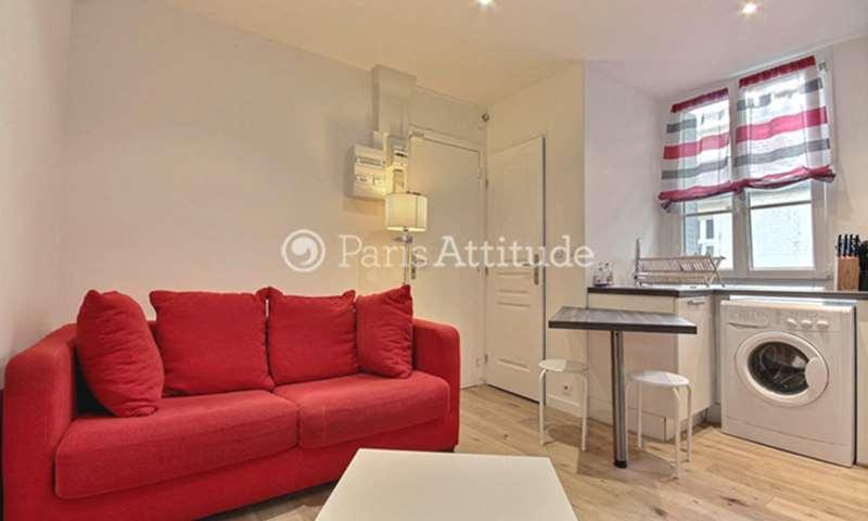 Rent Apartment 1 Bedroom 25m² Avenue du Bas Meudon, 92130 Issy les Moulineaux