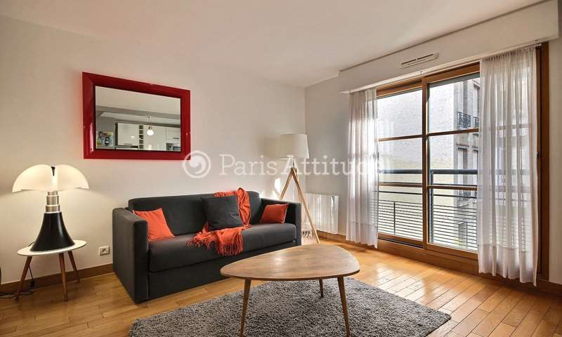 Rent Apartment 1 Bedroom 48m² avenue Rene Boylesve, 16 Paris