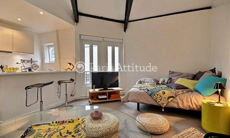 Location Appartement Studio 35m² rue Marcadet, 18 Paris