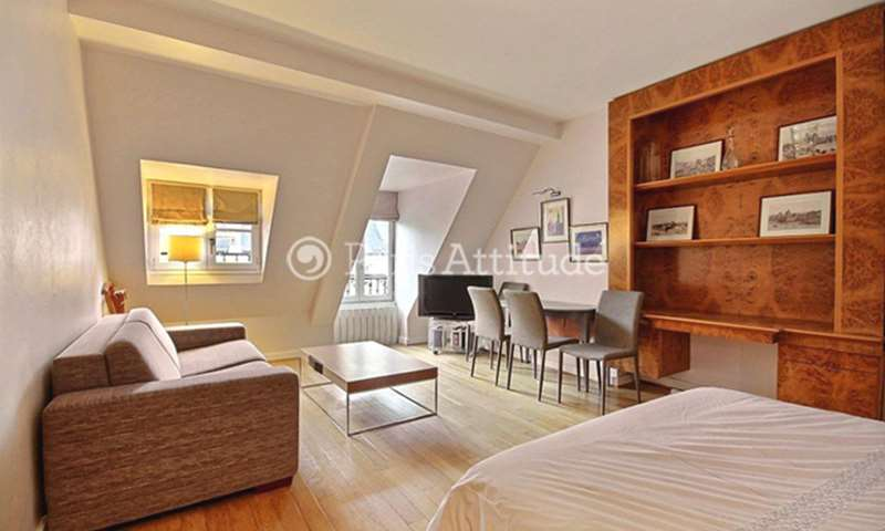 Rent Apartment Studio 32m² rue de Berri, 8 Paris