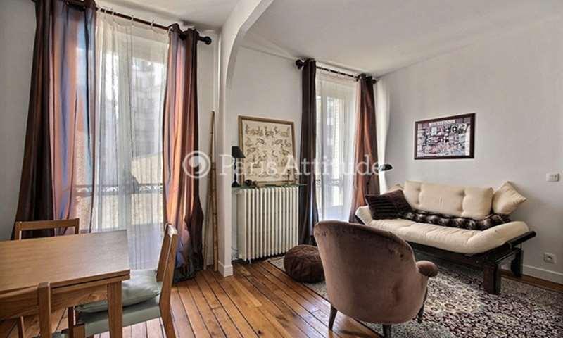 Location Appartement 1 Chambre 46m² rue Herran, 75016 Paris