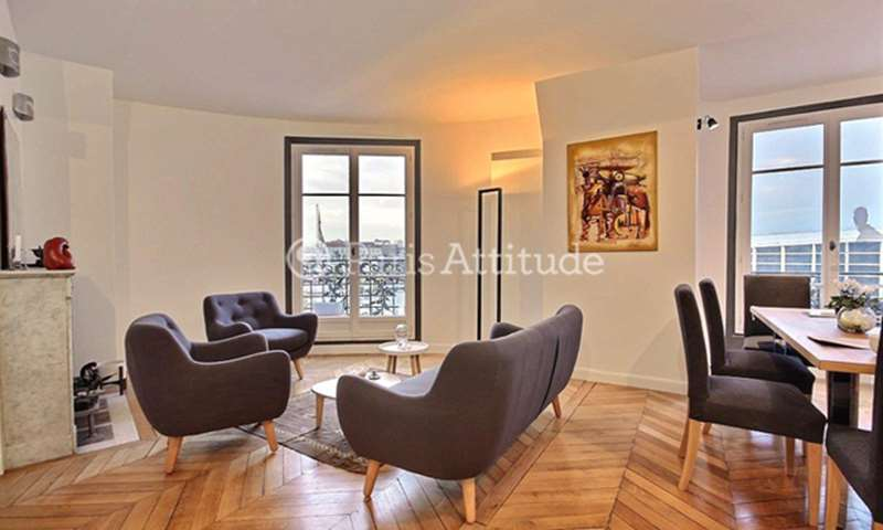 Rent Apartment 3 Bedroom 86m² boulevard Victor, 75015 Paris