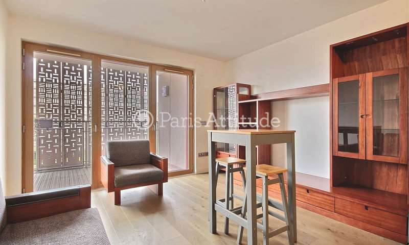 Aluguel Apartamento 1 quarto 43m² rue rené blum, 75017 Paris