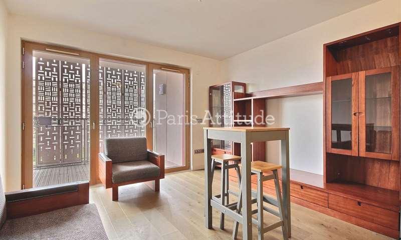 Rent Apartment 1 Bedroom 43m² rue rené blum, 75017 Paris