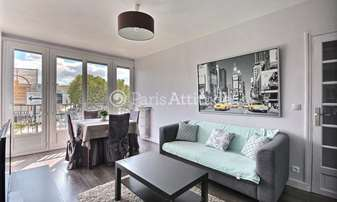 Rent Apartment 1 Bedroom 42m² boulevard Victor, 15 Paris
