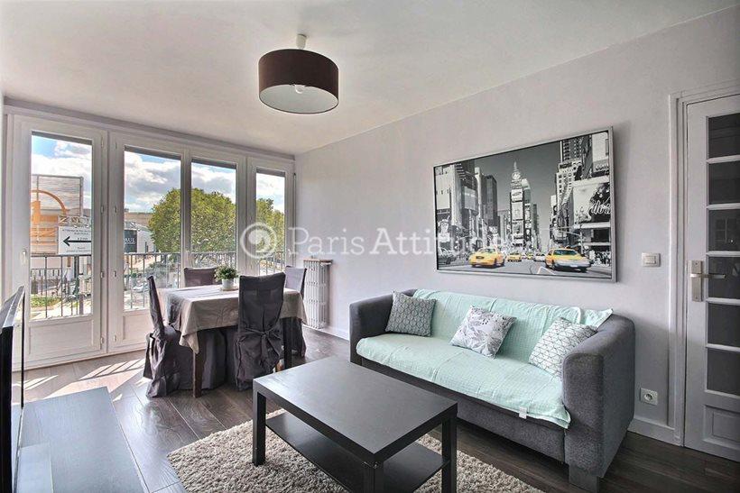 Rent furnished Apartment 1 Bedroom 42m² boulevard Victor, 75015 Paris