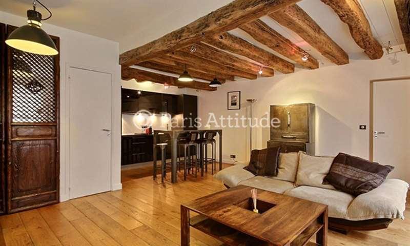 Rent Apartment 2 Bedroom 63m² rue Quincampoix, 75004 Paris