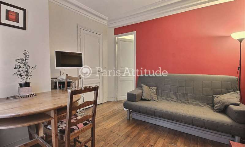 Rent Apartment 1 Bedroom 27m² rue Berthe, 18 Paris