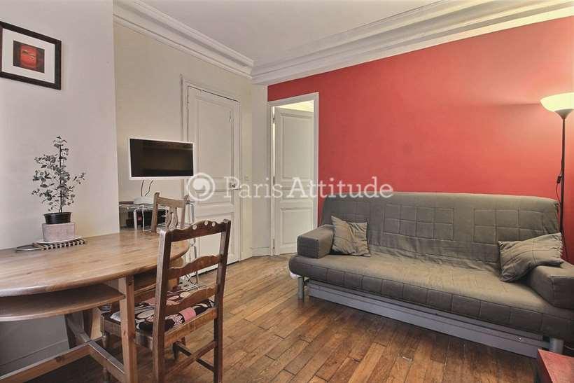 Louer Appartement meublé 1 Chambre 27m² rue Berthe, 75018 Paris