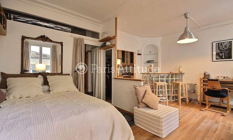 Rent Apartment Studio 35m² rue Bayen, 17 Paris