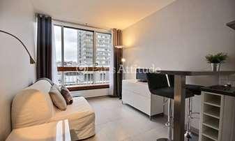 Rent Apartment Studio 19m² rue emeriau, 15 Paris