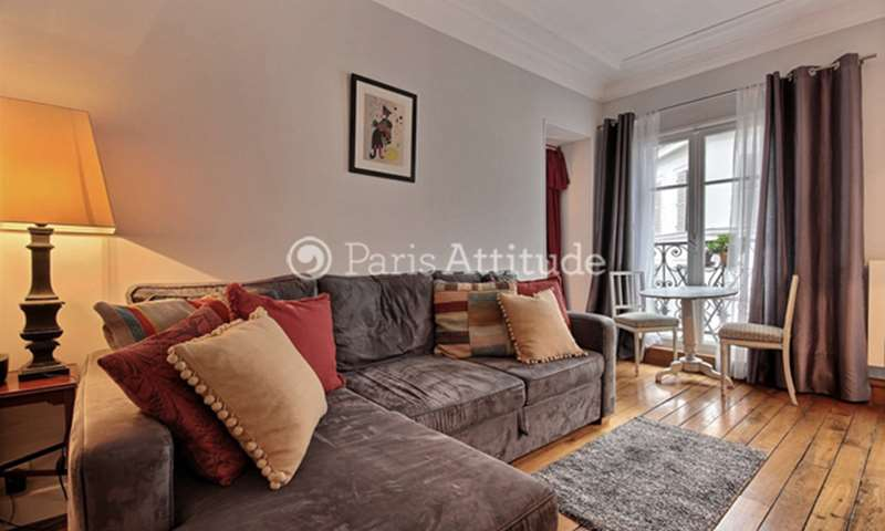 Rent Apartment 1 Bedroom 30m² rue Constance, 75018 Paris