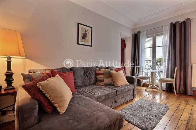 Louer Appartement meublé 1 Chambre 30m² rue Constance, 75018 Paris