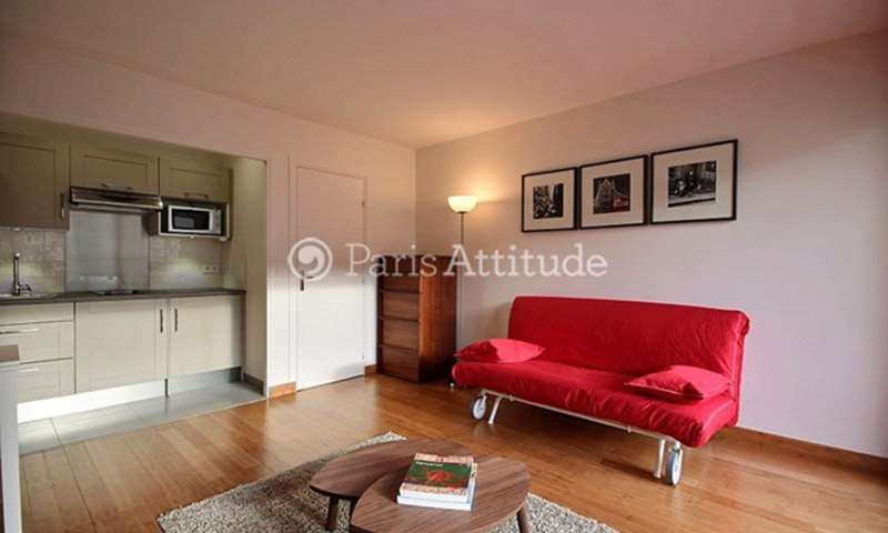 Rent Apartment Studio 30m² rue Rouelle, 15 Paris