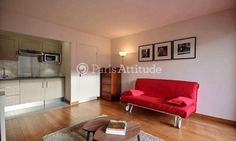 Location Appartement Studio 30m² rue Rouelle, 15 Paris