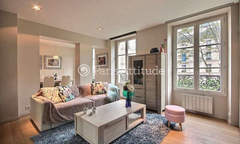 Rent Apartment 1 Bedroom 49m² rue des Martyrs, 9 Paris