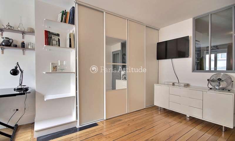 Rent Apartment Studio 27m² rue de la Verrerie, 4 Paris