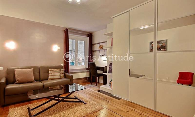 Rent Apartment Studio 27m² rue de la Verrerie, 75004 Paris