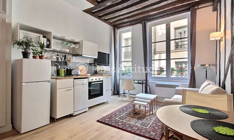 Rent Apartment Studio 22m² rue de l Hotel Colbert, 5 Paris