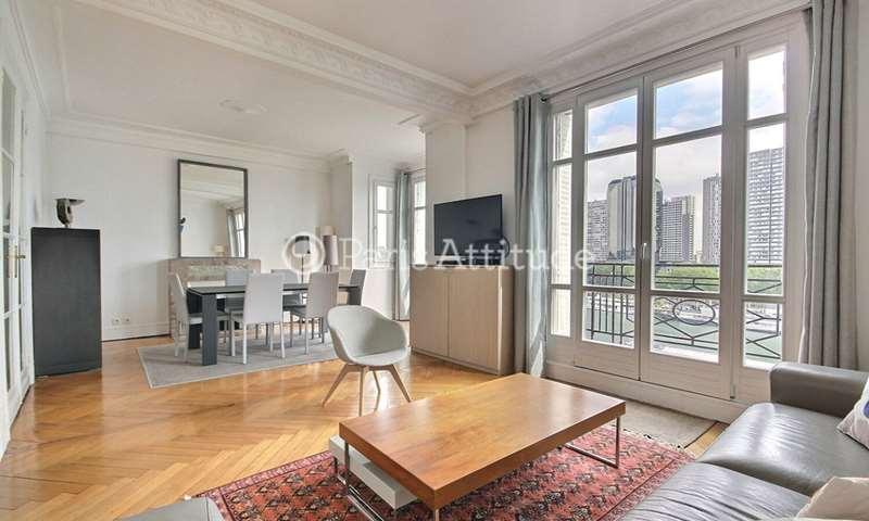 Rent Apartment 2 Bedrooms 81m² quai Louis Bleriot, 16 Paris