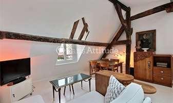 Rent Apartment 1 Bedroom 30m² rue Saint Martin, 3 Paris